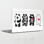 Panda Laptop Decal at Society6